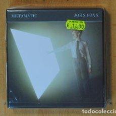 CDs de Música: JOHN FOXX - METAMATIC - CD. Lote 184095713