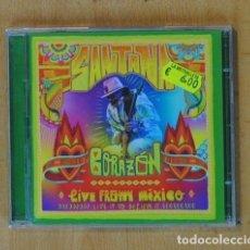 CDs de Música: SANTANA - CORAZON LIVE FROM MEXICO - CD. Lote 184095723