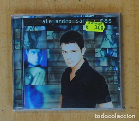 ALEJANDRO SANZ - MAS - CD (Música - CD's Pop)
