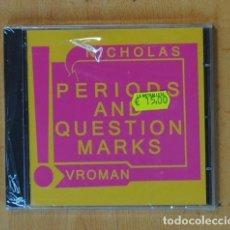 CDs de Música: NICHOLAS VROMAN - PERIODS AND QUESTION MARKS - CD. Lote 184095777