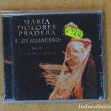 CDs de Música: MARIA DOLORES PRADERA Y LOS SABANDEÑOS - TE CANTO UN BOLERO - CD. Lote 184095782