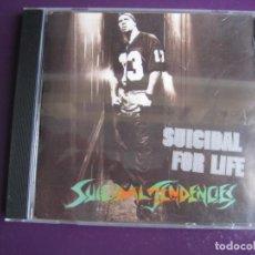CDs de Música: SUICIDAL TENDENCIES CD EPIC 1994 - SUICIDAL FOR LIFE - FUNK METAL - LIGERAS SEÑALES DE USO. Lote 184101408