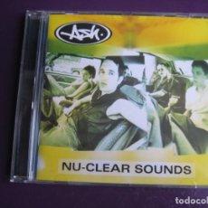 CDs de Música: ASH CD EDEL 1998 - NU-CLEAR SOUNDS - INDIE BRIT POP 90'S - LIGERAS SEÑALES DE USO, NADA GRAVE - BLUR. Lote 184101728