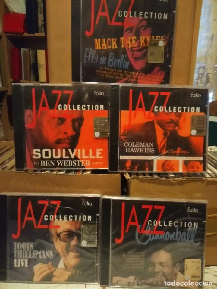 CDs de Música: LOTE 20 CDS DE JAZZ : MILES DAVIS, LOUIS ARMSTRONG, BILLIE HOLIDAY, DEXTER GORDON, ELLA FITZGERALD - Foto 4 - 184100456