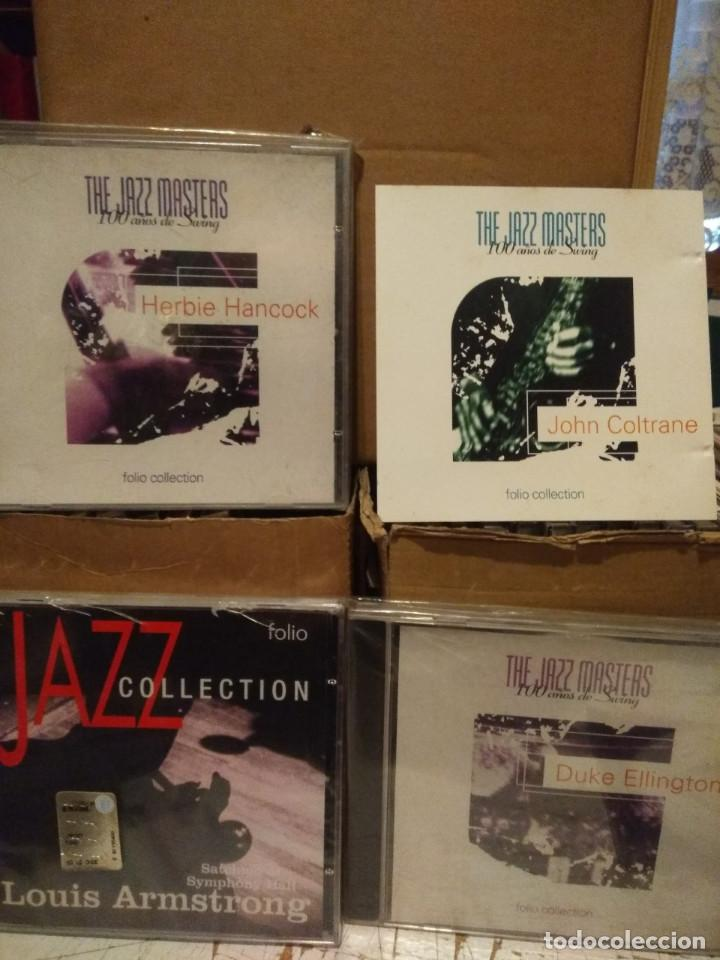CDs de Música: LOTE 20 CDS DE JAZZ : MILES DAVIS, LOUIS ARMSTRONG, BILLIE HOLIDAY, DEXTER GORDON, ELLA FITZGERALD - Foto 6 - 184100456