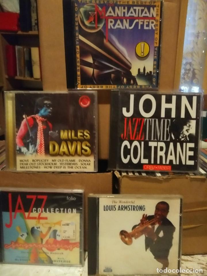 CDs de Música: LOTE 20 CDS DE JAZZ : MILES DAVIS, LOUIS ARMSTRONG, BILLIE HOLIDAY, DEXTER GORDON, ELLA FITZGERALD - Foto 8 - 184100456