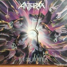CDs de Música: ANTHRAX - WE'VE COME FOR YOU ALL (CD, ALBUM, LTD, DIG) (NUCLEAR BLAST, NUCLEAR BLAST)NB 699-2, 2736. Lote 184108093