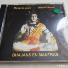 CDs de Música: BHAKTI MUSIC. DEEP IN LOVE. BHAJANS EN MANTRAS (CD). Lote 184144607