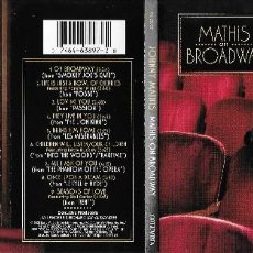 CDs de Música: JOHNNY MATHIS - MATHIS ON BROADWAY. Lote 184151712