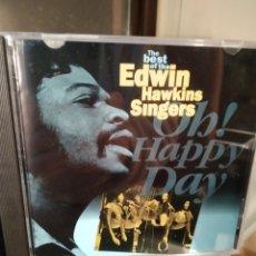 CDs de Música: EDWIN HAWKINS SINGERS – THE BEST OF THE EDWIN HAWKINS SINGERS OH! HAPPY DAY. Lote 184159163