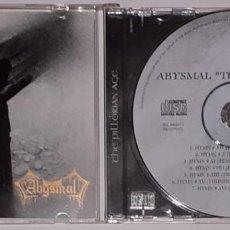 CDs de Música: ABYSMAL - THE PILLORIAN AGE - AV007. Lote 184177420