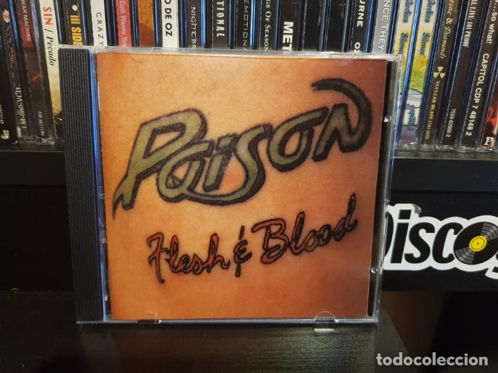 CDs de Música: POISON - FLESH & BLOOD - Foto 1 - 184177908