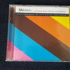 CDs de Música: SHHHHH... THE BEST IBIZA CHILLOUT COMPILATION...DOBLE CD. Lote 184183047