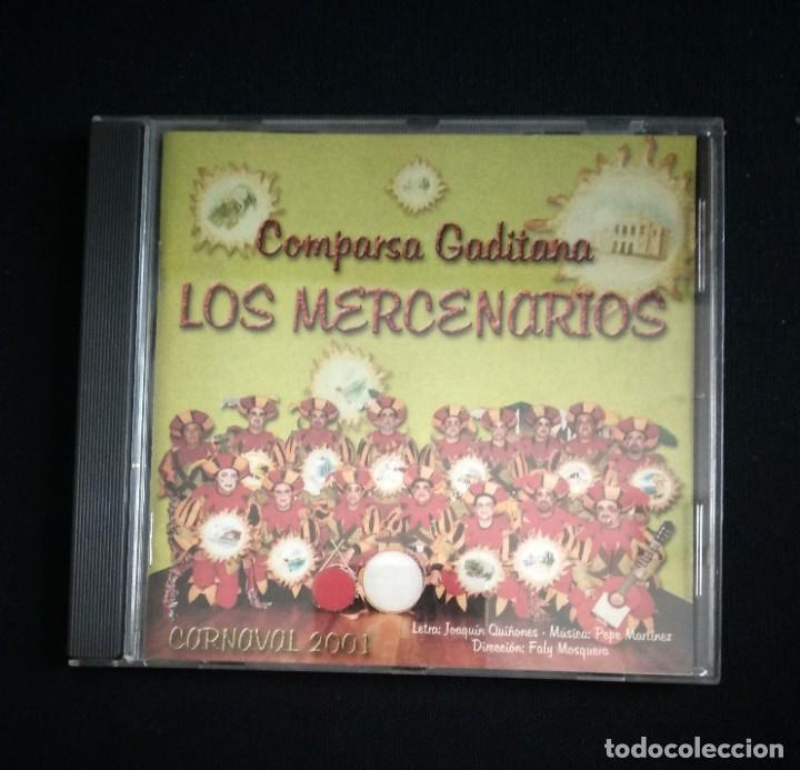 CD COMPARSA LOS MERCENARIOS 2001 CARNAVAL CÁDIZ (Música - CD's Flamenco, Canción española y Cuplé)
