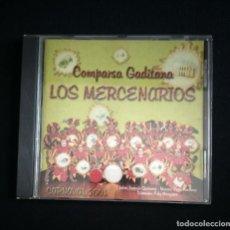 CDs de Música: CD COMPARSA LOS MERCENARIOS 2001 CARNAVAL CÁDIZ. Lote 184186193