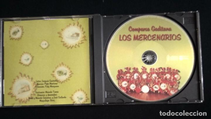 CDs de Música: CD comparsa LOS MERCENARIOS 2001 carnaval Cádiz - Foto 3 - 184186193