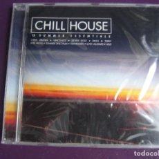 CDs de Música: CHILL HOUSE VOL. 2 13 SUMMER ESSENTIALS DOBLE CD PRECINTADO 2000 - ELECTRONICA DEEP HOUSE. Lote 222838396