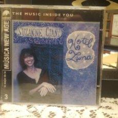 CD de Música: SUZANNE CIANI HOTEL LUNA CD ALBUM DEL AÑO 1991 ALEMANIA CONTIENE 10 TEMAS NEW AGE PEPETO. Lote 184221897