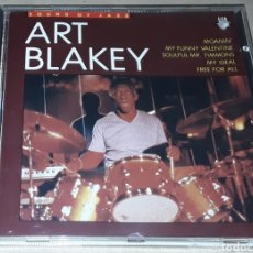 CDs de Música: CD - ART BLAKEY - THE SOUND OF JAZZ ART BLAKEY - MADE IN HOLLAND. Lote 184248082