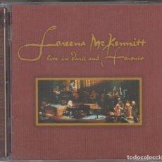 CD de Música: LOREENA MCKENNITT DOBLE CD LIVE IN PARIS AND TORONTO 1999. Lote 184255250