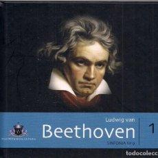 CDs de Música: LUDWIG VAN BEETHOVEN - SINFONIA Nº9 + LIBRO DE LA COLECCIÓN ROYAL PHILHARMONIC ORCHESTRA. Lote 184262391