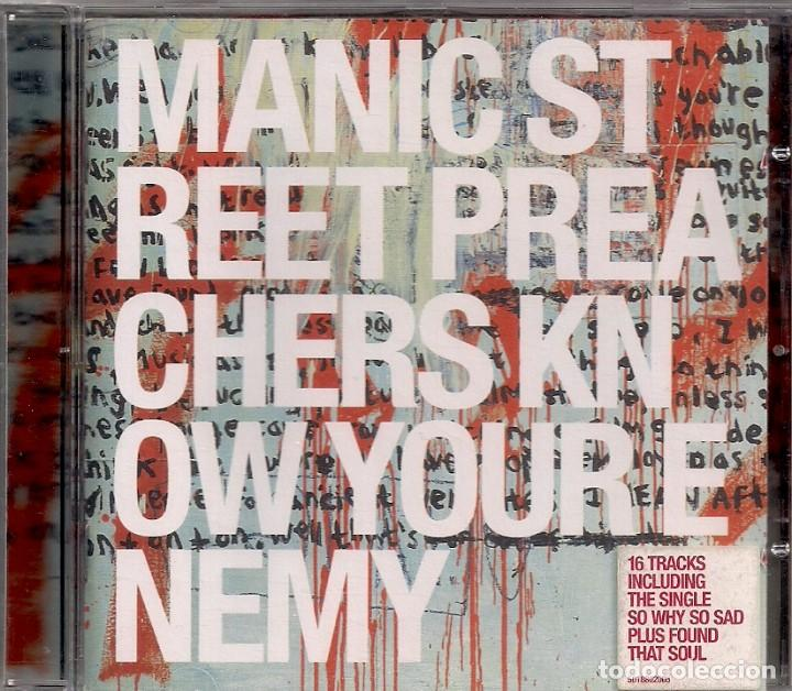MANIC STREET PREACHERS ROCK - KNOW YOUR ENEMY - INCLUDING THE SINGLE SO WHY SO SAD.... (Música - CD's Rock)
