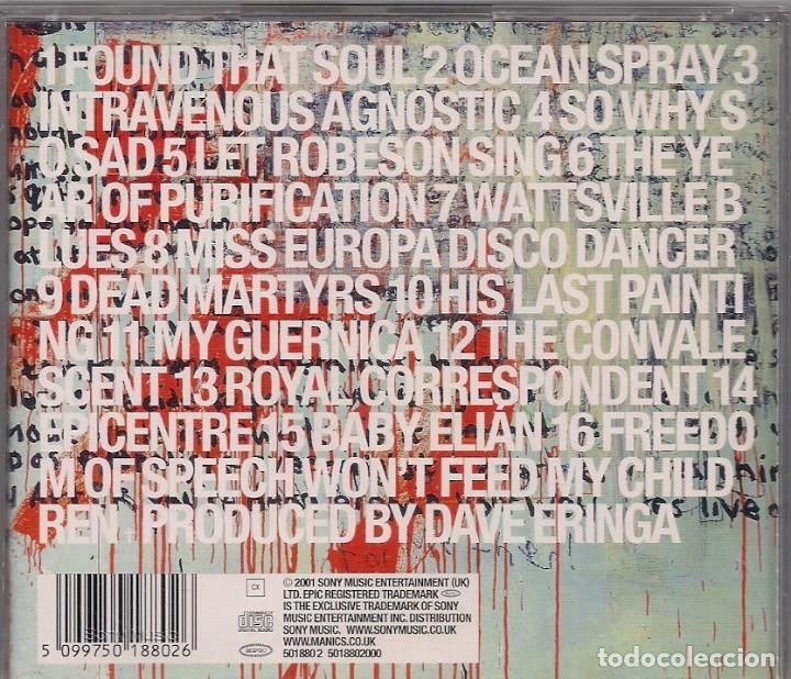 CDs de Música: Manic Street Preachers Rock - Know Your enemy - Including The Single So Why so sad.... - Foto 2 - 184264373