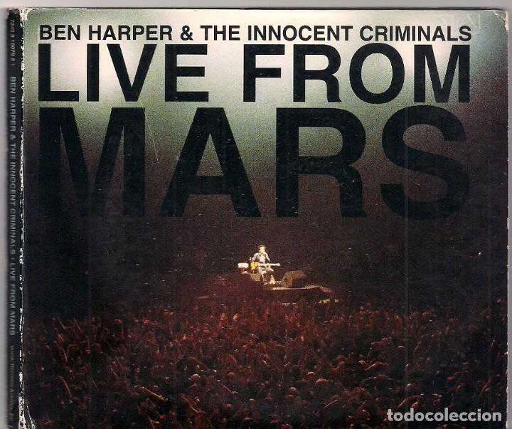 BEN HARPER & INNOCENT CRIMINALS - LIVE FROM MARS - 2 CDS (Música - CD's Rock)
