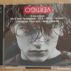 CDs de Música: VERTIGO - 2 CD'S 1995 - AEROSMITH, R.E.M., GREEN DAY, GUNS N'ROSES, WEEZER, THE LEMONHEADS. Lote 184273611