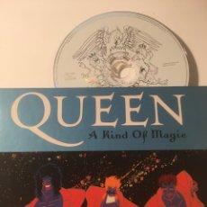 CDs de Música: QUEEN A KIND OF MAGIC LIBRO Y CD. Lote 184282138