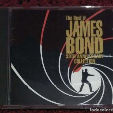 CDs de Música: THE BEST OF JAMES BOND (30TH ANNIVERSARY COLLECTION) CD 1992 - DURAN DURAN, MATT MONTO, TOM JONES.... Lote 184308396