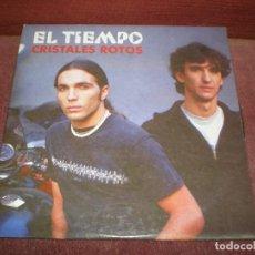 CDs de Música: CD SINGLE PROMO EL TIEMPO / CRISTALES ROTOS. Lote 184317392