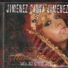 CDs de Música: MARIA JIMENEZ - JIMENEZ CANTA JIMENEZ / CD DE 2004 RF-3367. Lote 184330002