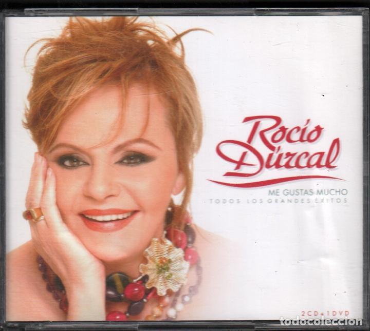 ROCIO DURCAL - ME GUSTAS MUCHO - DOBLE CD + DVD BMG DE 2005 RF-3368 (Música - CD's Flamenco, Canción española y Cuplé)