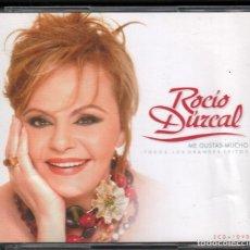 CDs de Música: ROCIO DURCAL - ME GUSTAS MUCHO - DOBLE CD + DVD BMG DE 2005 RF-3368. Lote 184330302