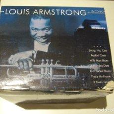 CDs de Música: CAJA BOX 15 CDS LOUIS ARMSTRONG. Lote 184344653