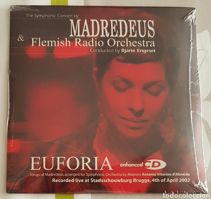 MADREDEUS & FLEMISH RADIO ORCHESTRA CD PROMO SINGLE (Música - CD's World Music)