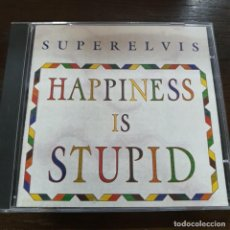 CDs de Música: SUPERELVIS – HAPPINESS IS STUPID. POR CARIDAD PRODUCCIONES, 1996.. Lote 184362482