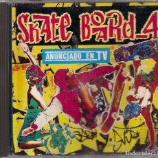 CDs de Música: SKATE BOARD _ 4. Lote 184368782
