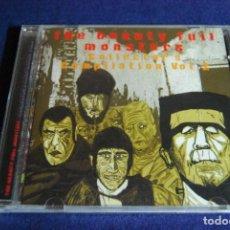 CDs de Música: THE BEAUTY FULL MONSTERS VOL. 2 RECOPILATORIO PUNK. Lote 184373205
