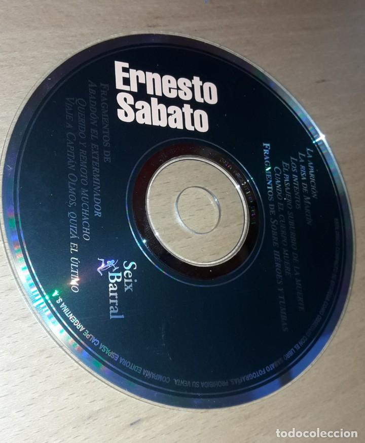 ERNESTO SABATO- FRAGMENTOS DE CUENTOS- CD SIN CAJA (Música - CD's Otros Estilos)