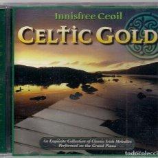 CDs de Música: CELTIC GOLD - VOL.2 - INNISFREE CEOIL - MÚSICA IRLANDESA. Lote 184380965