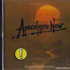 CDs de Música: BSO - APOCALYPSE NOW - FRANCIS FORD COPPOLA - ORIGINAL MOTION PICTURE SOUNDTRACK. Lote 184381913