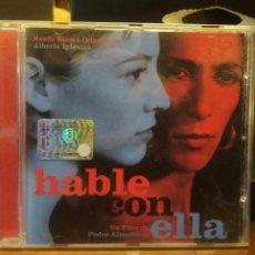 CDs de Música: ALBERTO IGLESIAS - HABLE CON ELLA, BANDA SONORA ORIGINAL DE LA PELÍCULA DE ALMODÓVAR - CD PEPETO. Lote 184388410