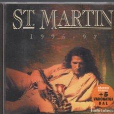 CDs de Música: ST. MARTIN 1995-1997 CD ALBUM BMG DE 1996 RF-3380. Lote 184424025