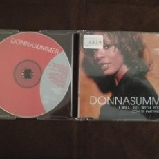 CDs de Música: DONNA SUMMER I WILL GO WITH YOU CD MAXI SINGLE 1999. Lote 184431185