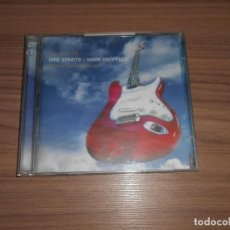 CDs de Música: THE BEST OF DIRE STRAITS & MARK KNOPFLER 2 CD ALBUM COMPLETO 22 TEMAS. Lote 184431561