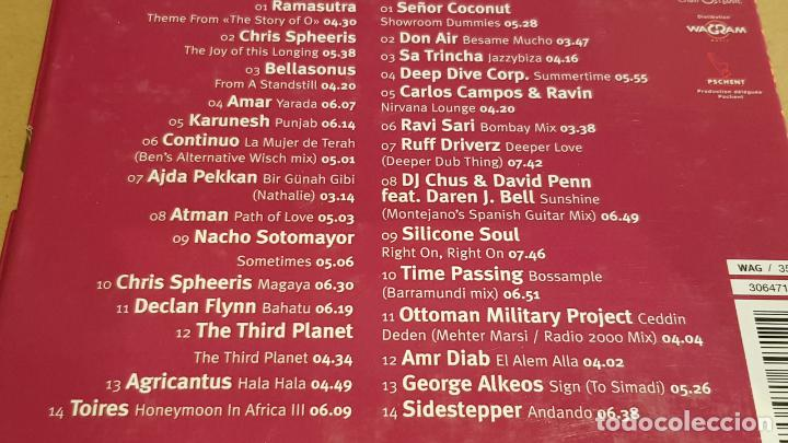 CDs de Música: NIRVÂNA LOUNGE / BY CLAUDE CHALLE & RAVIN. / CAJA-BOX 2 CDS / BUENA CALIDAD. - Foto 4 - 184440128
