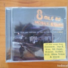 CDs de Música: CD MUSIC FROM AND INSPIRED BY THE MOTION PICTURE - 8 MILE - EMINEM (M5). Lote 184442416