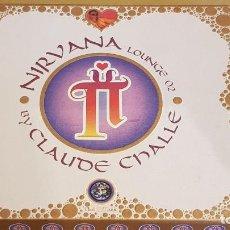 CDs de Música: NIRVÂNA / LOUNGE 02 / CLAUDE CHALLE / CAJA-BOX 2 CDS / LEVES MARCAS DE USO.. Lote 184456763